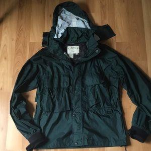 Dark Green Orvis wading jacket